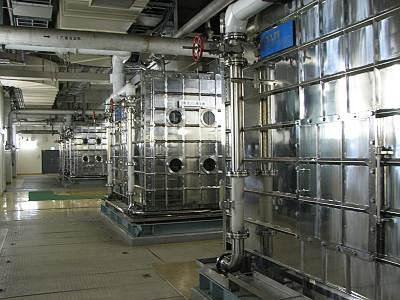 金町浄水場 オゾン発生装置
