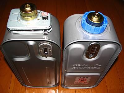 コロナのよごれま栓とダイニチの給油汚れんキャップ