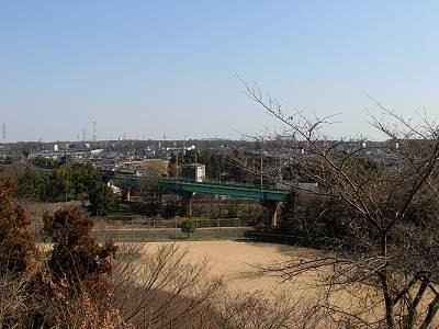 城山神社から東方面
