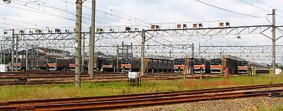 東所沢電車基地