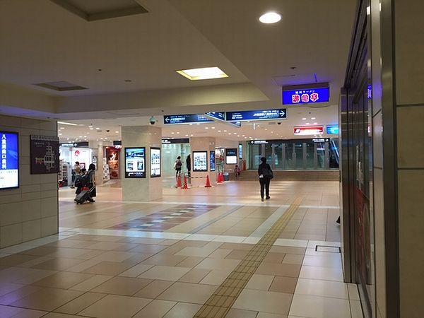 東京駅へ脱出