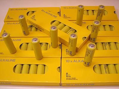 IKEA アルカリ乾電池 10本190円