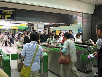 大宮駅の新幹線改札口