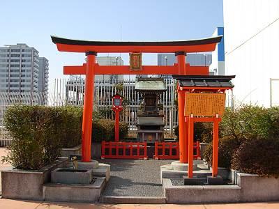 そごう大宮店屋上の神社