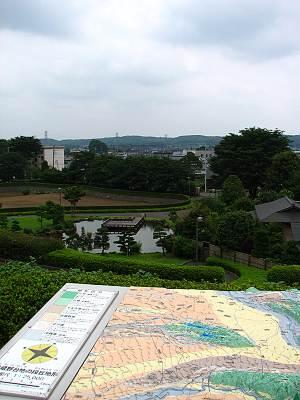 入間市博物館ALITからの眺望