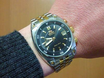 オリエントの機械式時計