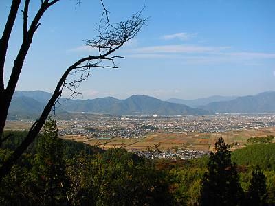 塩田平パノラマ展望台からの展望1