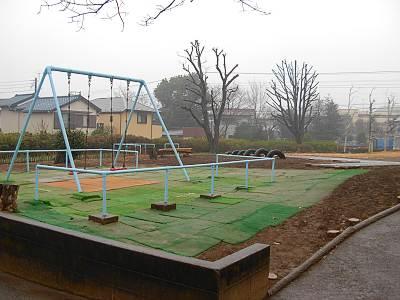 東村山市運動公園の子供用遊具