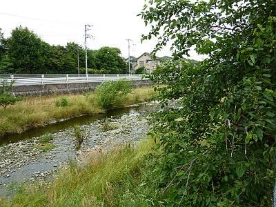 桑と空堀川