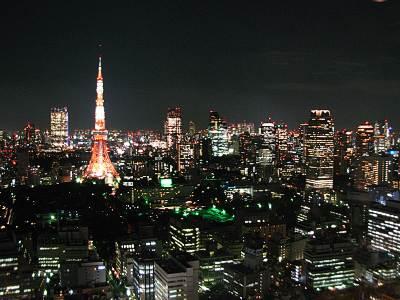 東京タワー面