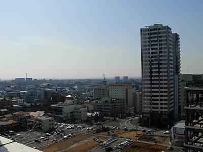 そごう大宮店屋上からの展望(所沢方面?)