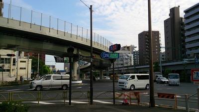 鈴ヶ森刑場跡は第一京浜横