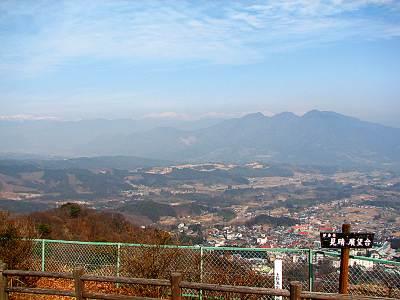 ときめきデッキ(見晴展望台)からの眺望