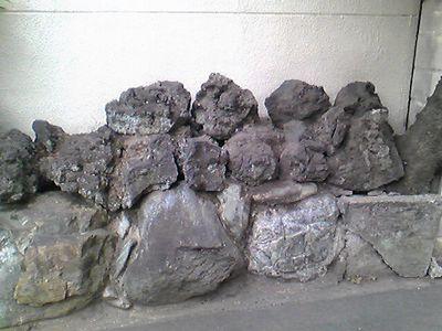 岩風呂の岩