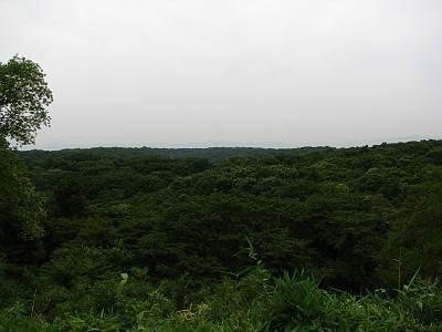 頂上から丹沢・奥多摩・秩父方面