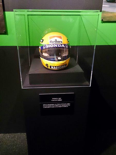アイルトン・セナのヘルメット