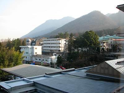 伊香保温泉 ホテル天坊 部屋からの眺め