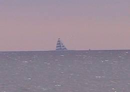 舞浜から見る風の塔