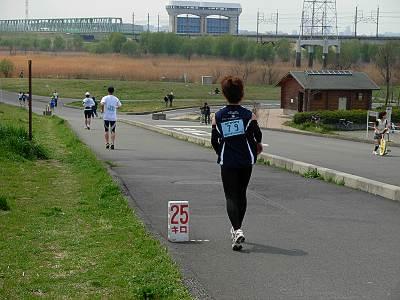 第2回戸田・彩湖フル&ウルトラマラソンの様子