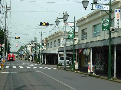 清瀬旭が丘団地の商店街1