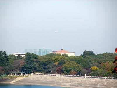 狭山富士からもNACの飛行船
