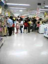 イトーヨーカドー東久留米店 でかたまごっちの列