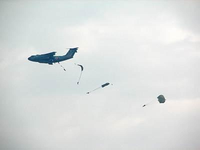 入間航空祭 空挺降下