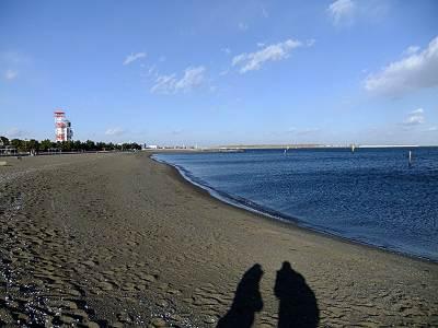 城南島海浜公園つばさ浜