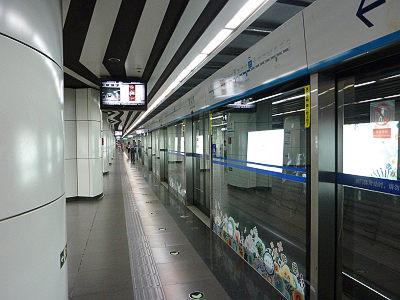 北京地下鉄ホームドア1