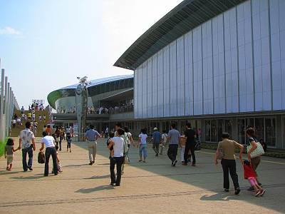 ボリショイサーカス会場(所沢市民体育館)