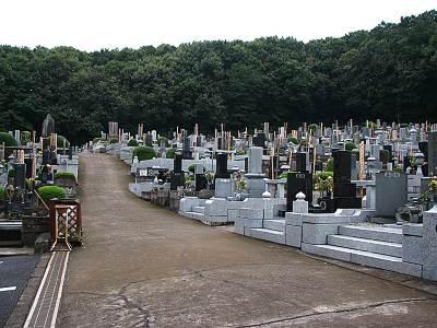 佛眼寺の墓地