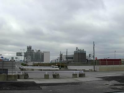 中央防波堤の庁舎