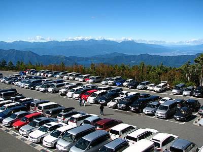 富士スバルライン 五合目駐車場