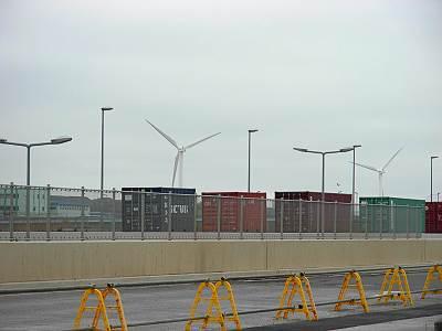 中央防波堤風力発電施設