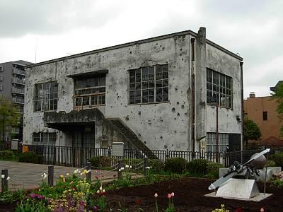 旧日立航空機株式会社立川工場変電所