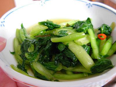 小松菜の漬物