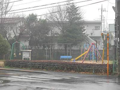 東村山市運動公園の隣の公園の遊具