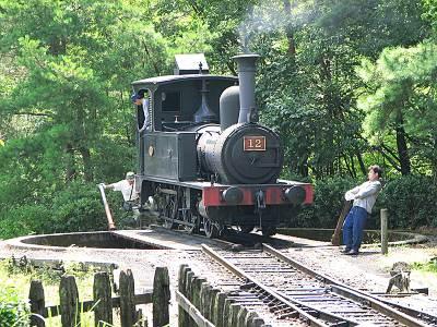 明治村 蒸気機関車12号(PowerShot S2 ISにて撮影)