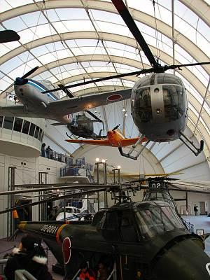 所沢航空発祥記念館駐機場