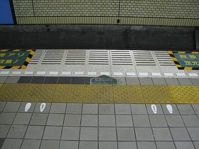 仙台市地下鉄のホームの並び方