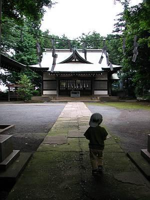 所沢市 安松神社