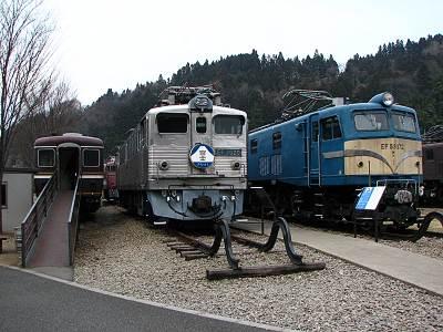 碓氷峠鉄道文化むら 展示車両