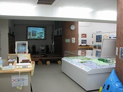 村山下貯水池(多摩湖)工事インフォメーションセンターの内部