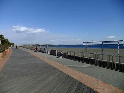 城南島海浜公園ボードウォーク