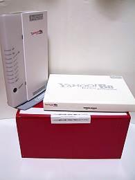 Yahoo! BB 光 TV Package 機器