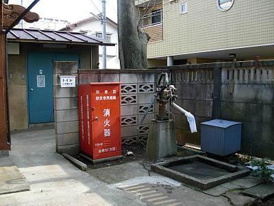 荻窪 白山神社の井戸