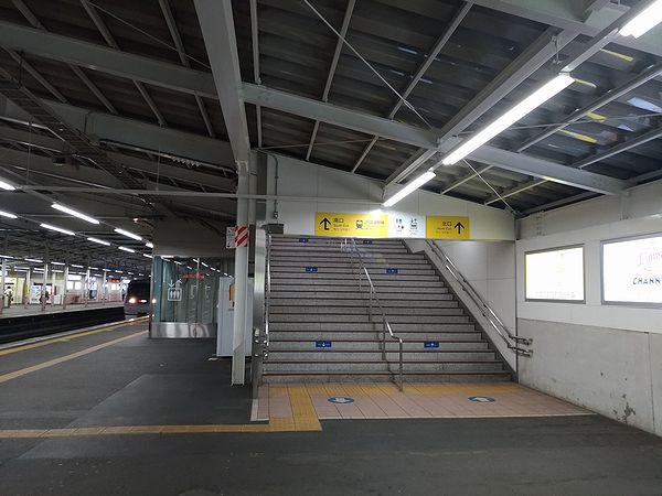 秋津駅のわかりにくい案内2
