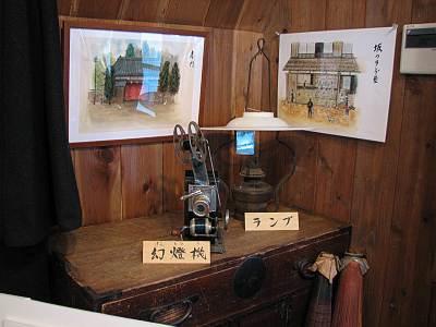幻燈機とランプ