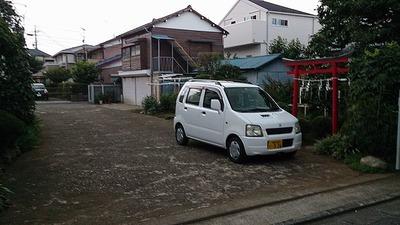 富士の湯駐車場