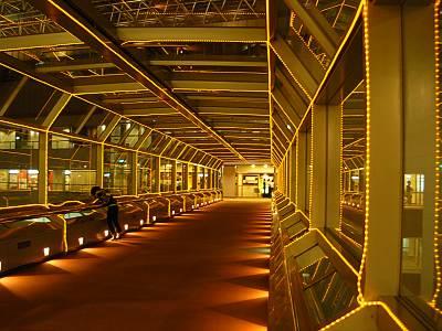 新宿NSビル29F空中ブリッジ